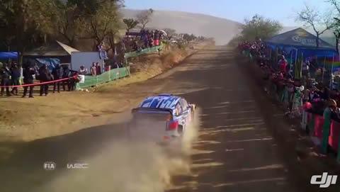 DJI - WRC Mexico 2016