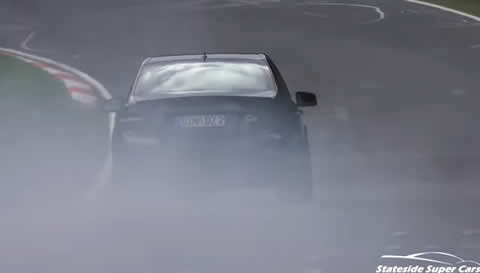 Cars on FIRE & Smokey cars on the Nürburgring 2017