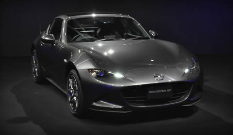 Launch of Roadster(MX-5) RF Retractable Hardtop