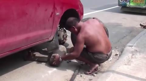 Artisanal repairs wheels method