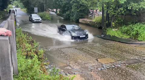 Rufford Ford Vehicles vs Flooded Ford compilation 32