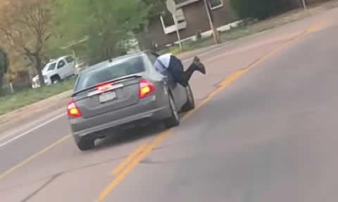 Domestic Dispute Turns into Dangerous Driving