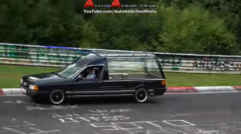 Strangest Things at the Nürburgring Part 4
