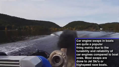 Boats Fitted With Insane Car Engines