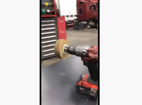 Bored Mechanics Use Power Tools to Spin