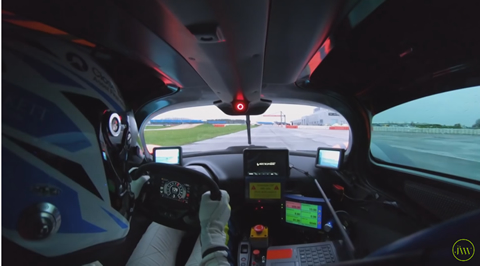 Valkyrie Is ALIVE! World's First Onboard Drive