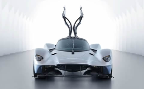 Exclusive Glimpse of the ASTON MARTIN VALKYRIE 2017