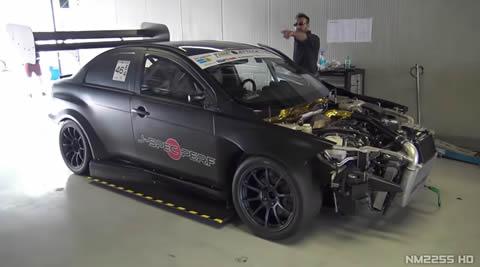 Mitsubishi Lancer EVO X INSANE Time Attack Build