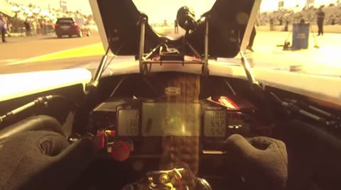 Ride along with Top Fuel driver