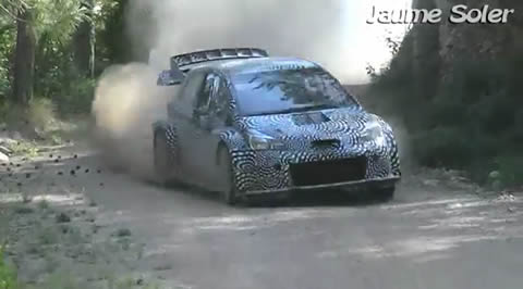 Toyota Yaris WRC 2017 Test