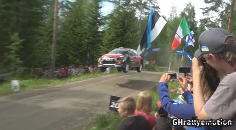 WRC Neste Rally Finland 2017 FLYING SATURDAY