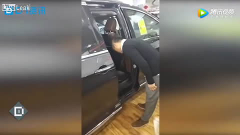 Car salesman test new a safety