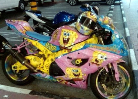 spongebob_motorcycle
