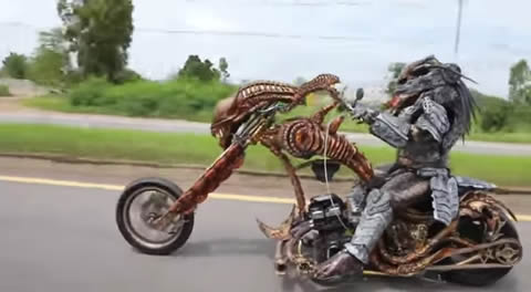 Insane Lifelike Character Chopper