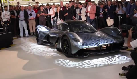 Aston Martin Red Bull 001 Supercar First Look