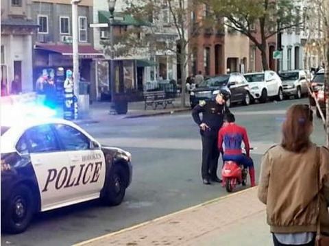 spiderman_police