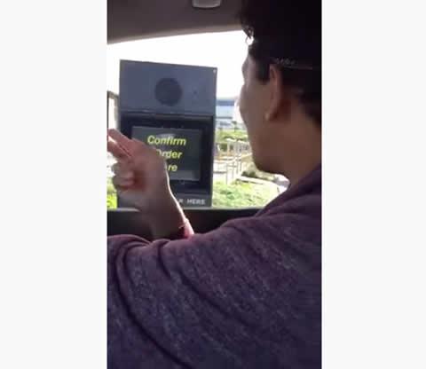 Singing My Drive Thru Order