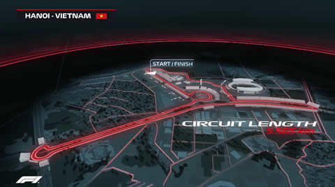 Formula 1 2020 Vietnam Grand Prix