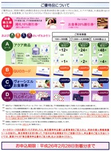 2013_11TOKAIホールディングス株主優待選択