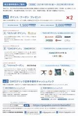 2021_09GMOペパボ株主優待