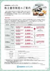 2019_06池田泉州HD株主優待
