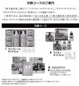 2015_05スギHD株主優待代替品
