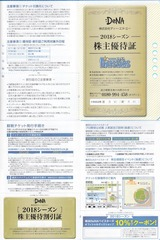 2018_04DeNa株主優待