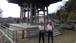 三浦七福神ツーリング11�圓福寺の鐘