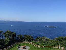 樫野崎からの景色
