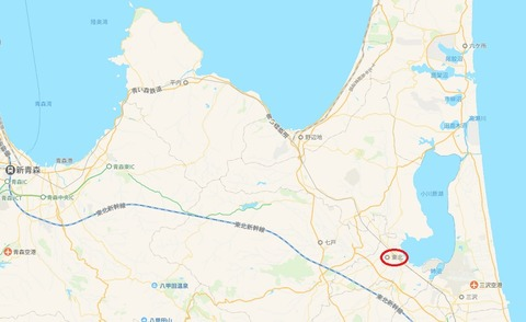東北町 地図