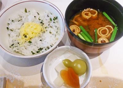 欅 ご飯1