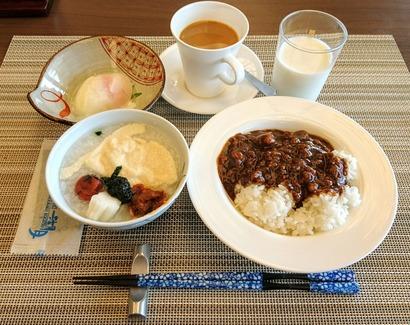 ホテル湖月 朝食