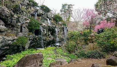 熱海梅園 滝1