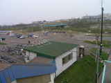 上野幌駅ホームからの眺め
