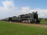 名寄公園の蒸気機関車キマロキ