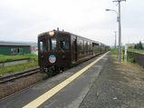 上富良野駅に到着するノロッコ号