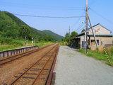 宗谷本線・雄信内駅 ホーム2006
