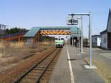 室蘭本線・栗沢駅ホーム