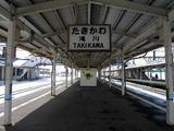 函館本線・滝川駅 ホーム