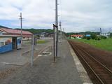 日高本線・荻伏駅ホーム