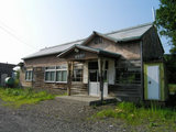 宗谷本線・雄信内駅 駅舎2006