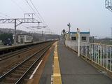 千歳線・上野幌駅ホーム