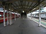 滝川駅ホーム