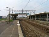 函館本線・奈井江駅ホーム