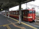 岩見沢駅に停車中の列車