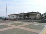 奈井江駅 駅舎