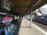 根室本線・富良野駅ホーム