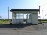 日高本線・清畠駅 駅舎