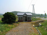宗谷本線・日進駅 駅舎2006