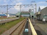 納内駅ホーム